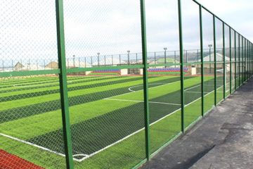 Fencing systems for sport facilities